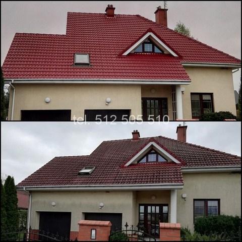 Czyszczenie dachu Poznań